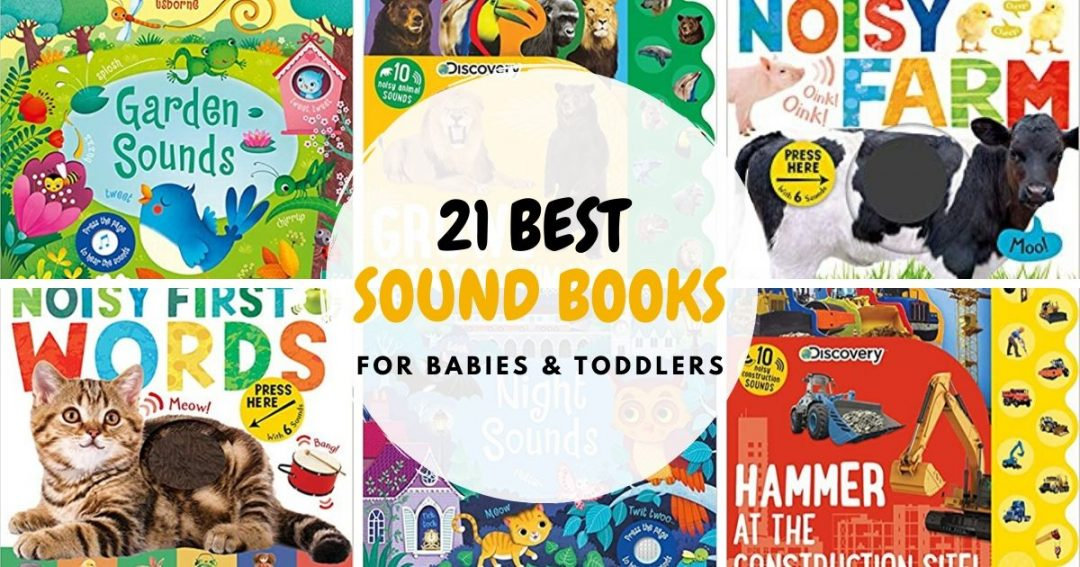 Best Sound Books For Babies And Toddlers