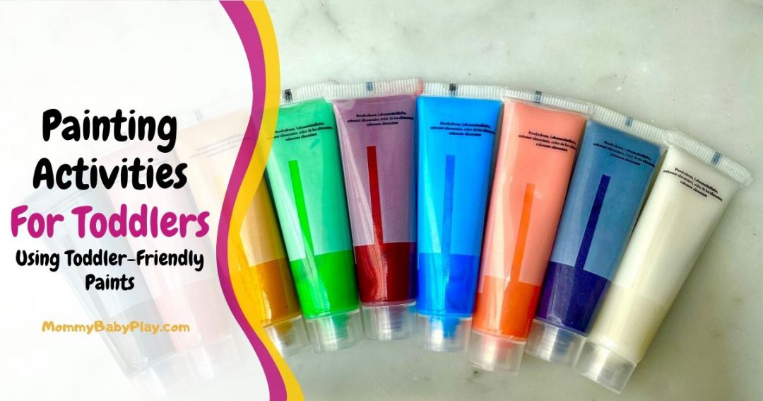 Painting Activities For Toddlers