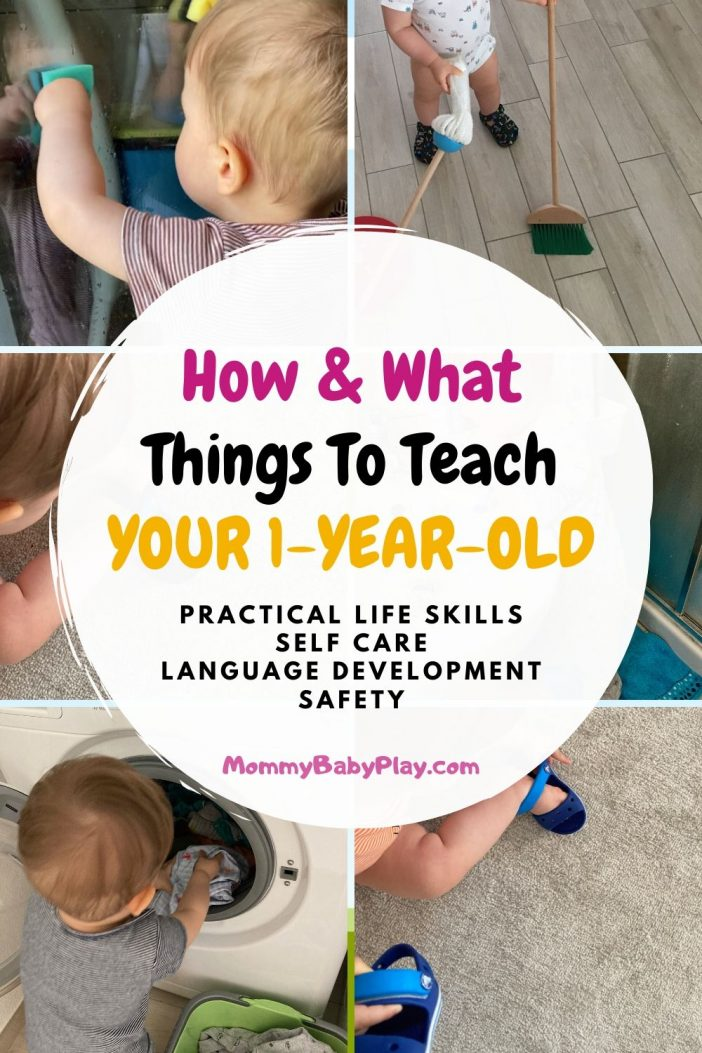 How & What Things Should You Teach Your 1 Year Old