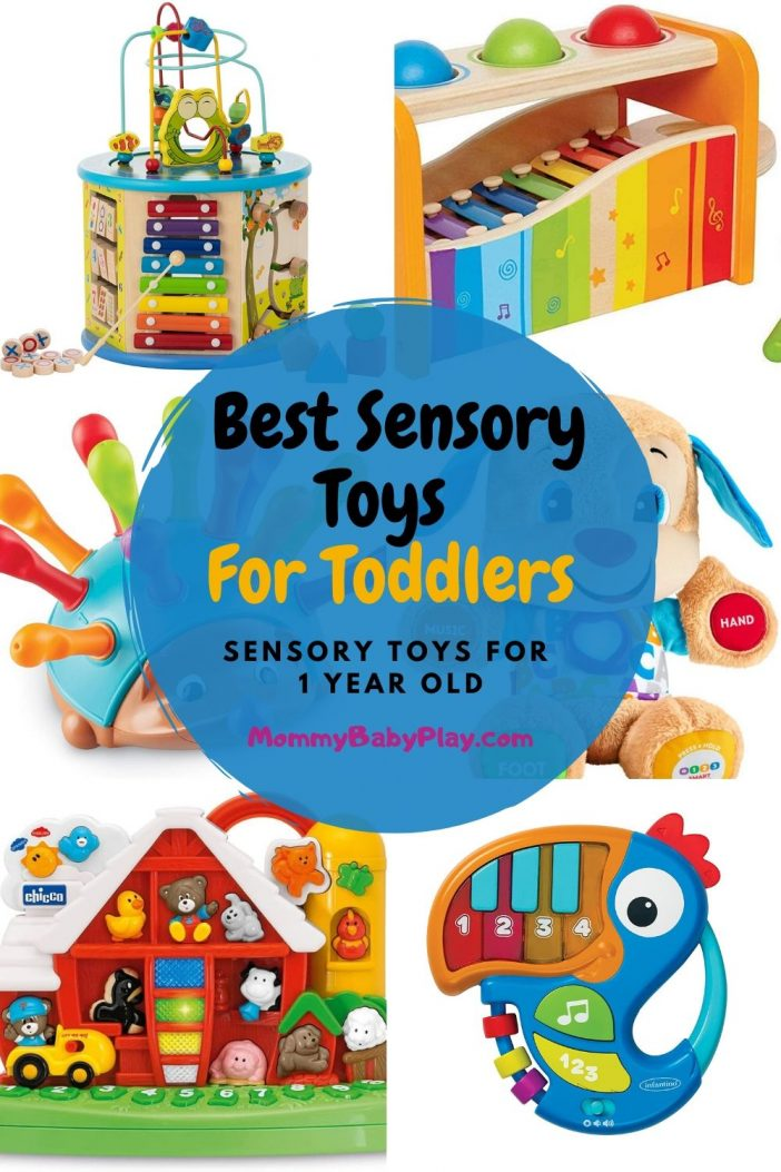 Best Sensory Toys For Young Toddlers {12 months +}