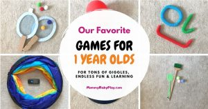 Games For 1 Year Olds