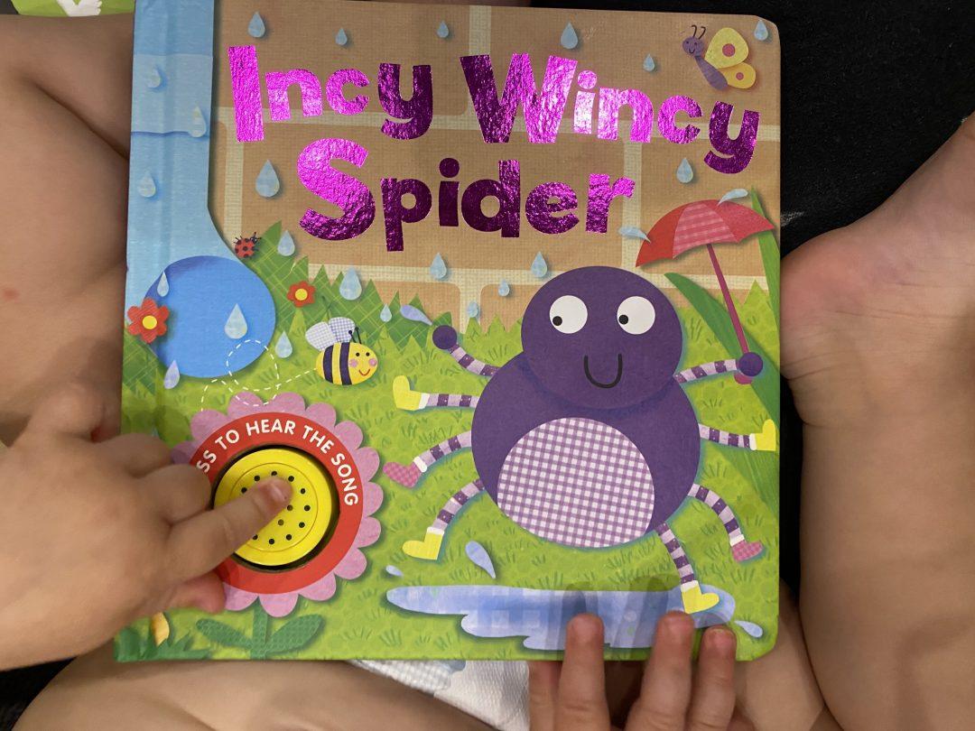 Incy Wincy Spider book