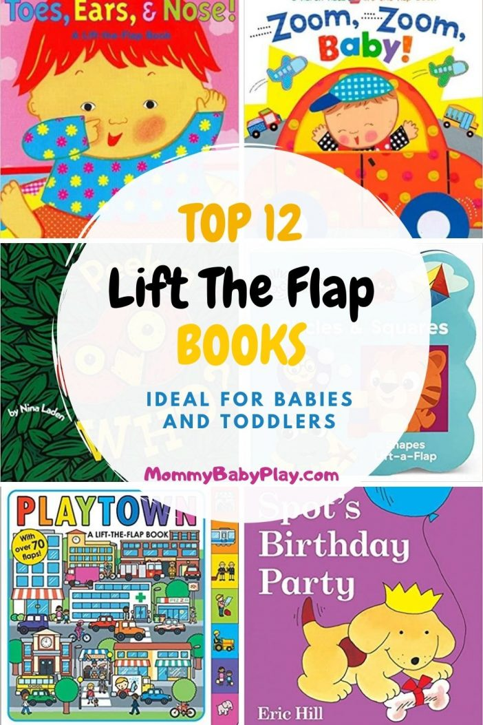 Top 12 Lift The Flap Books For Babies & Toddlers