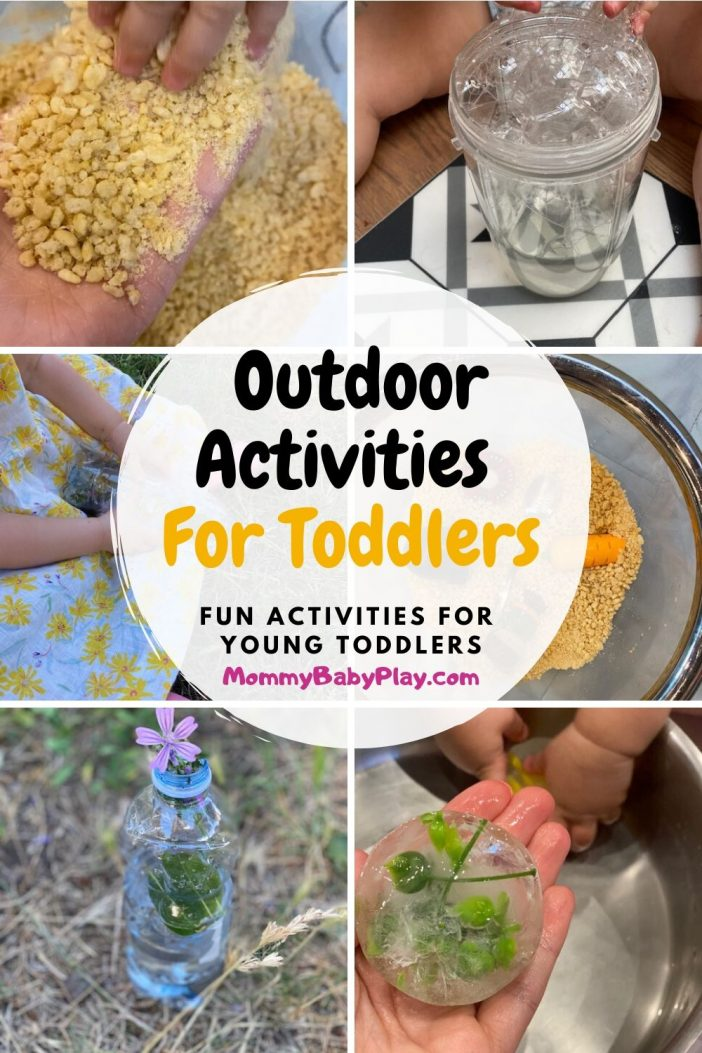 Fun, Simple Activities to do Outdoors with Young Toddlers (That They Will LOVE!!)