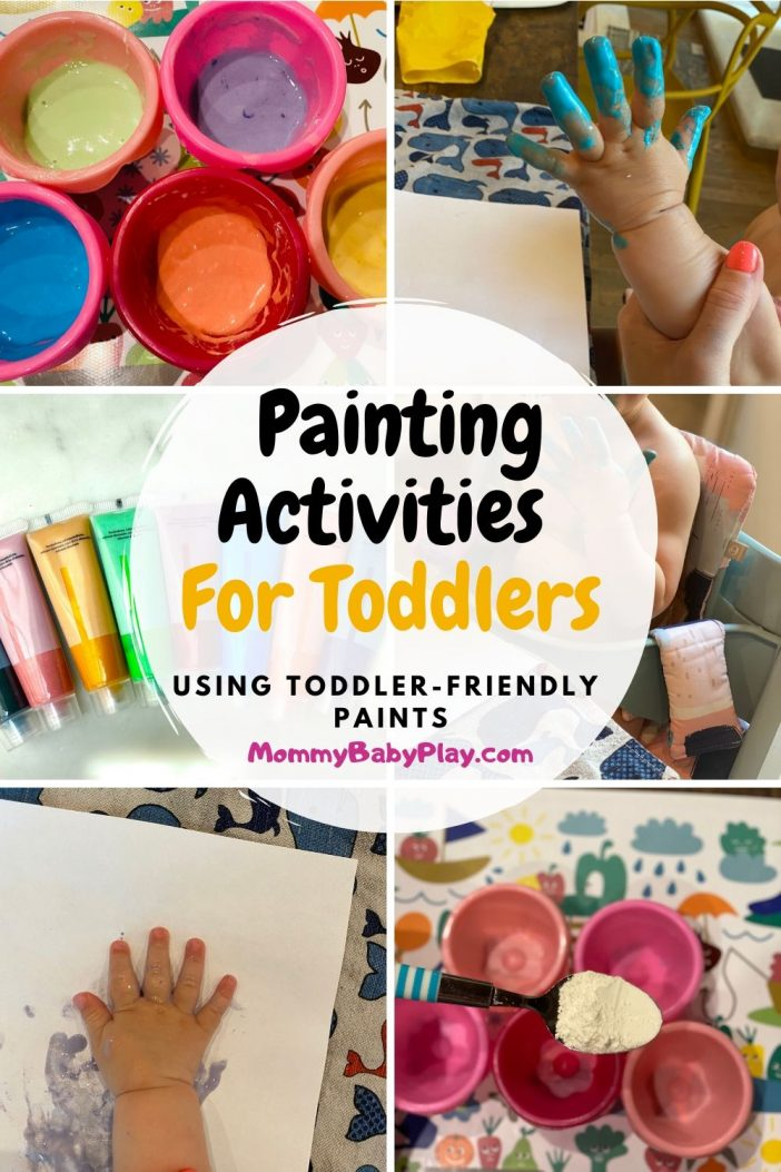 Super Fun & Cool Painting Activities For 1 Year Olds
