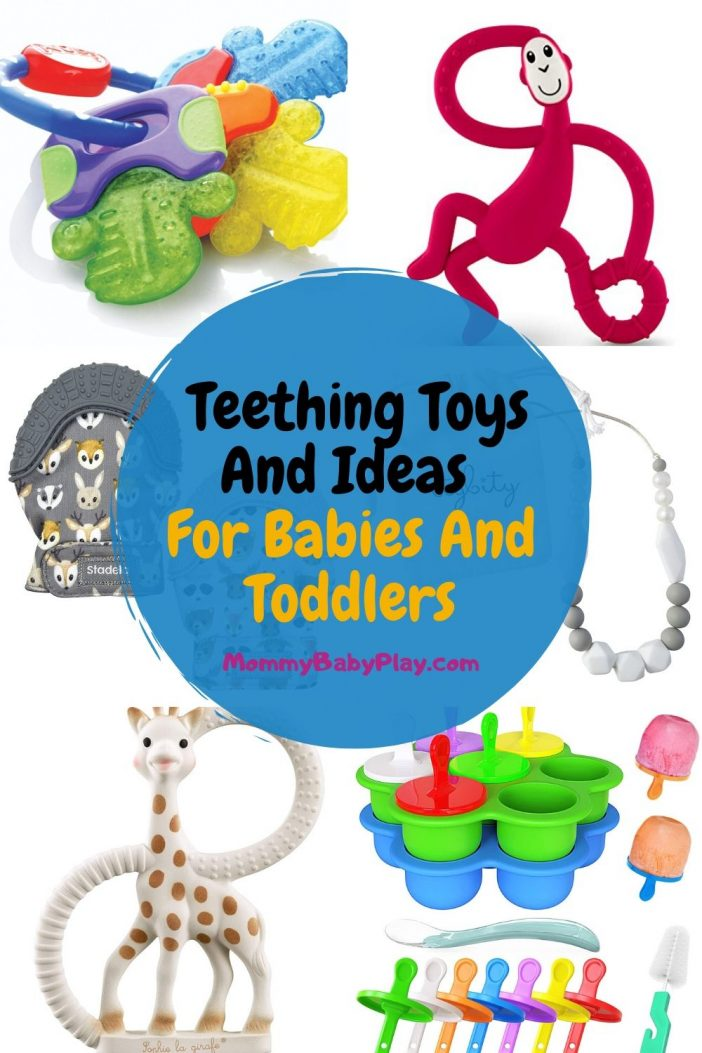 Best Toys & Ideas For Teething Babies & Toddlers
