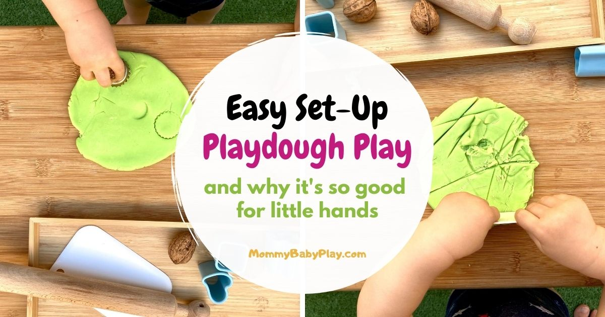 Playdough Play For 1 Year Olds