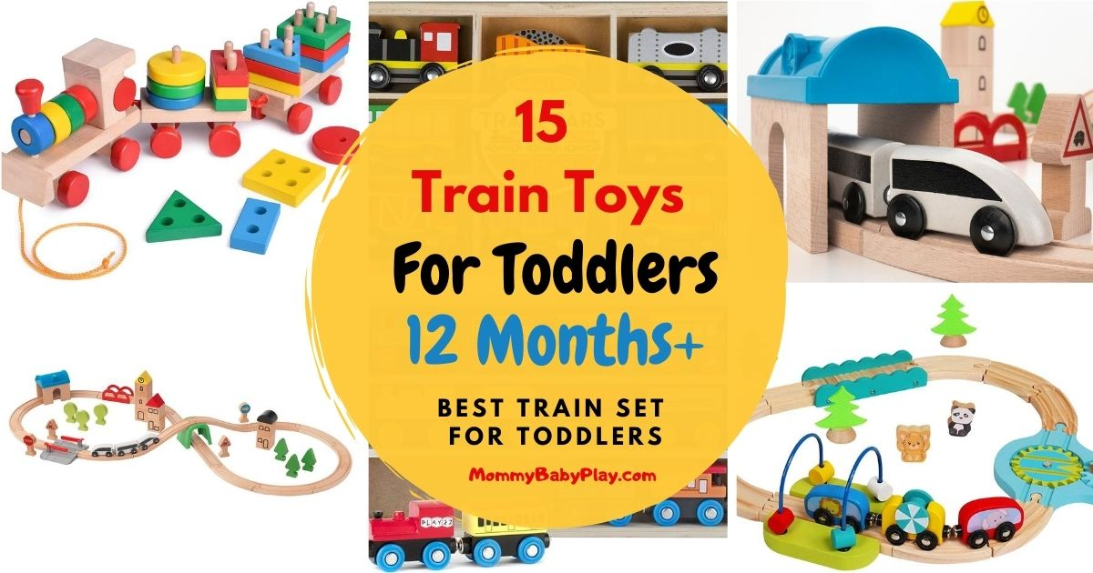 Train toys for toddlers