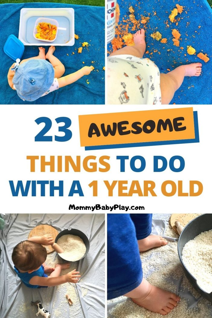 things to do with 1 year old