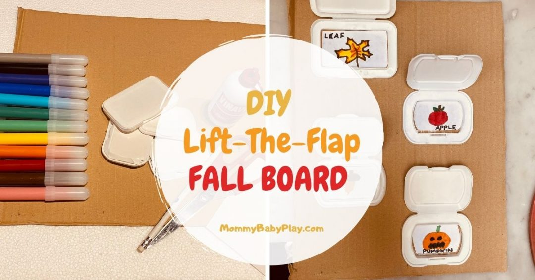DIY lift the flap fall board
