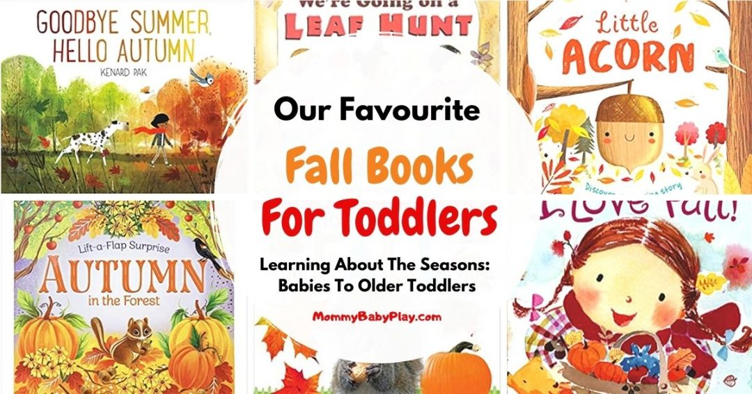 favourite fall books for toddlers