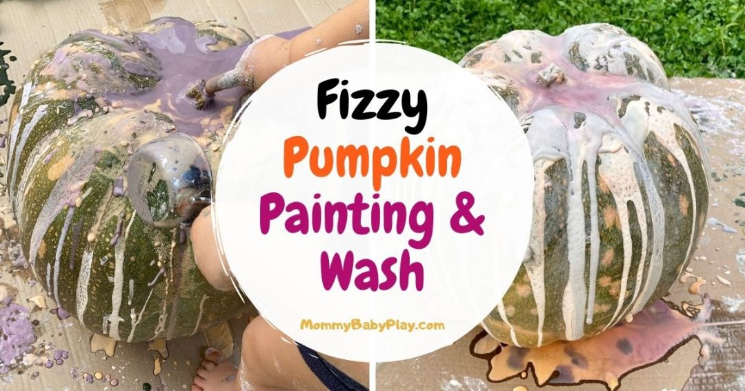 Fizzy Pumpkin Painting & Wash