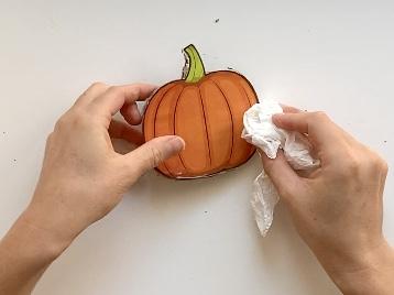 DIY Pumpkin Puzzle - Note