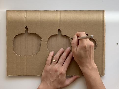 DIY Pumpkin Puzzle - Step 6