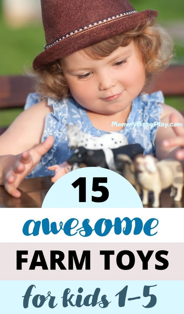 Top 15 Farm Toys For Kids Aged 1-5