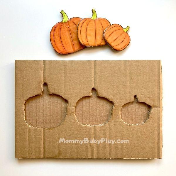 DIY Pumpkin Puzzle