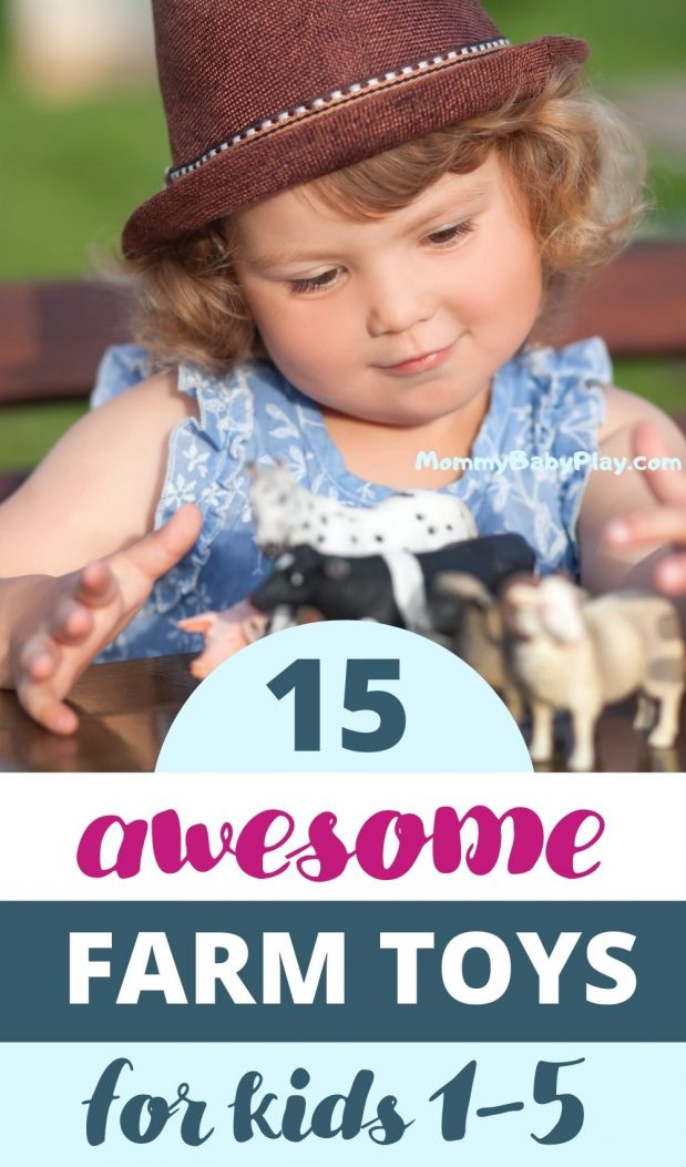 All Time Favorite Farm Toys For Kids from 0 to 5!