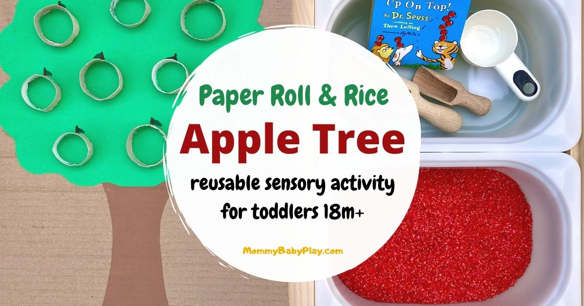 Paper Roll & Rice Apple Tree