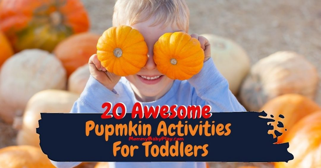 Pumpkin Activities For Toddlers