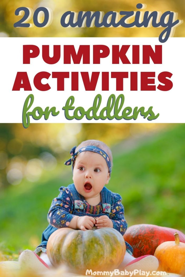 Easy & Fun Pumpkin Activities For Toddlers {They will absolutely LOVE}