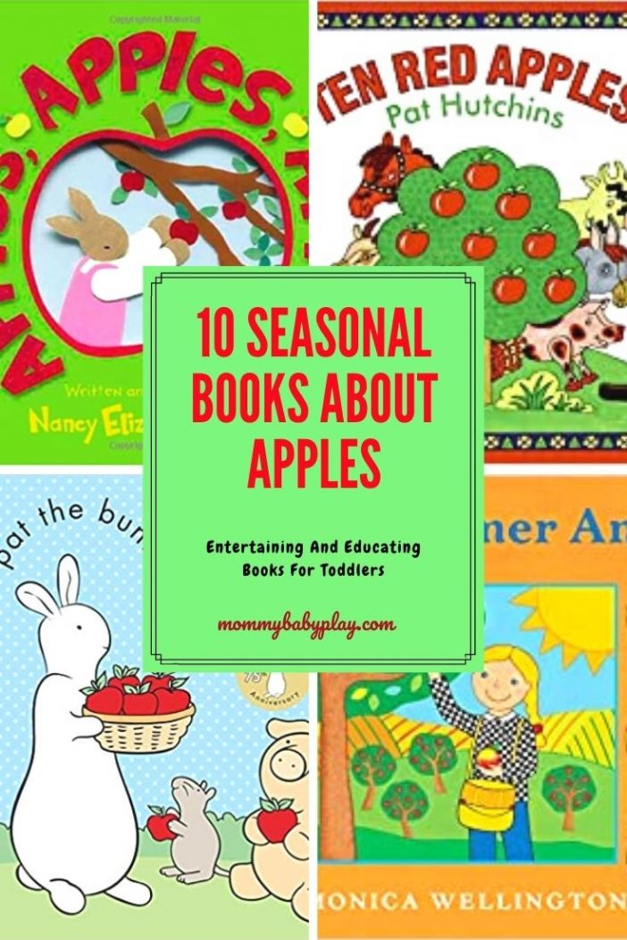 Awesome Seasonal Books About Apples Your Toddler Will Love!
