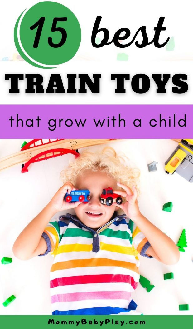 Best Train Toys & Train Sets For Toddlers That Grow With a Child!