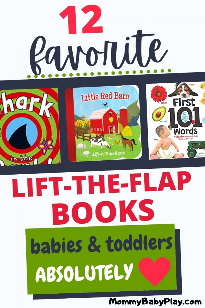 Favorite Lift-The-Flap Books for Babies and Toddlers.