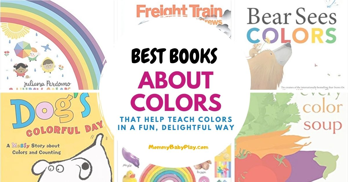 Books About Colors For Toddlers