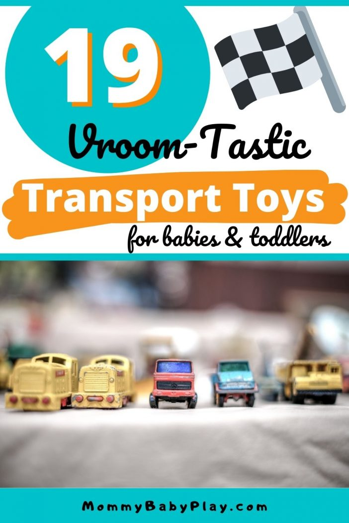 19 Vroom-Tastic Transport Toys For Babies & Toddlers {They Will ABSOLUTELY love!}