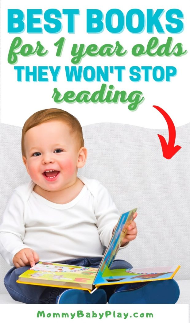 Best Books For One Year Olds They Will Love & Read for years!