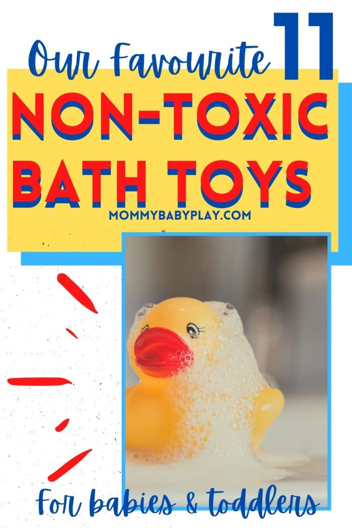 Non-Toxic Bath Toys for Babies & Toddlers