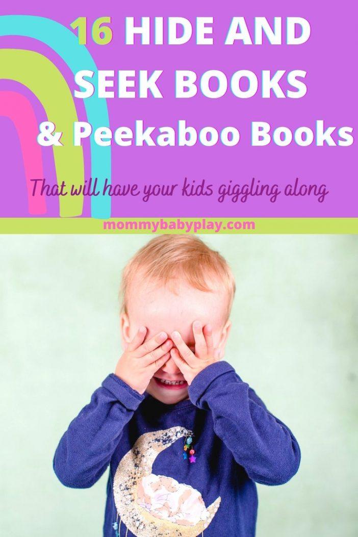 16 Exciting Hide & Seek Peekaboo Books
