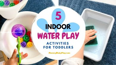 Water Play For Toddlers Ideas
