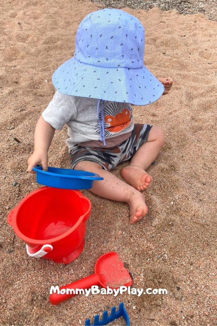 outdoor toys for 1 year olds - beach set