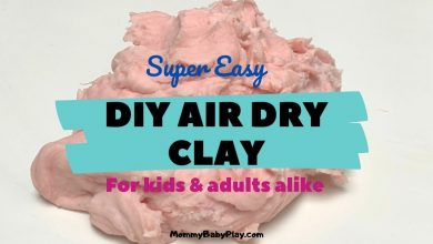 diy air dry clay
