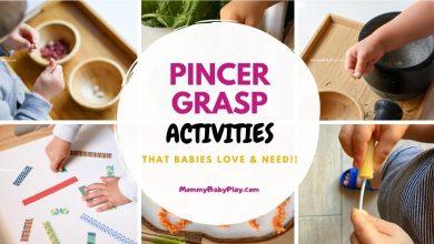 Pincer Grasp Activities